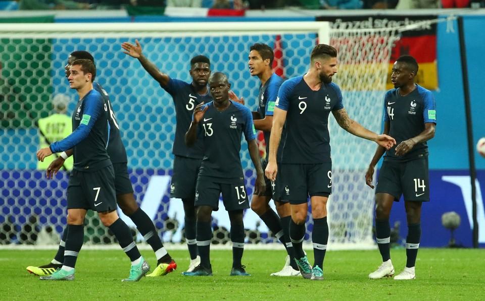 Сборная Франции - фаворит финального поединка ЧМ-2018.