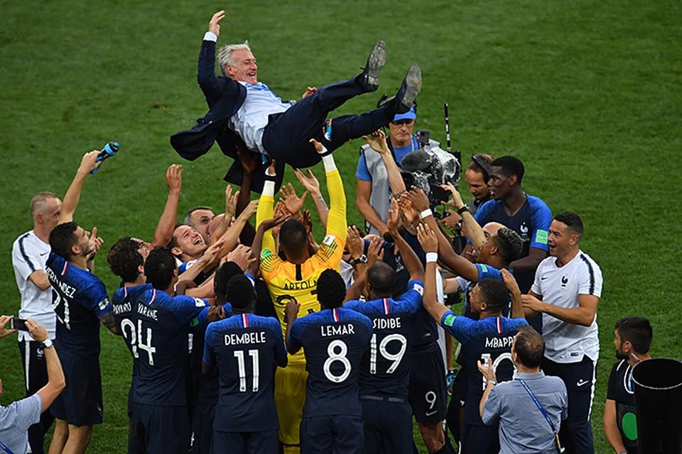 Сборная Франции по праву чемпион