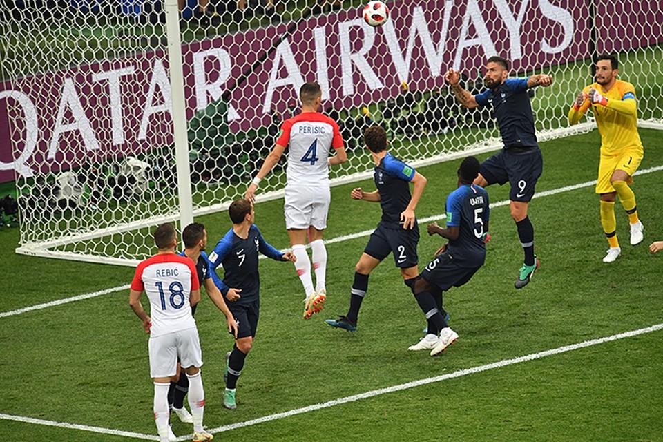 По среднему количеству ударов французы заняли только 17-е место (11 ударов за матч), зато их точность была очень высокой
