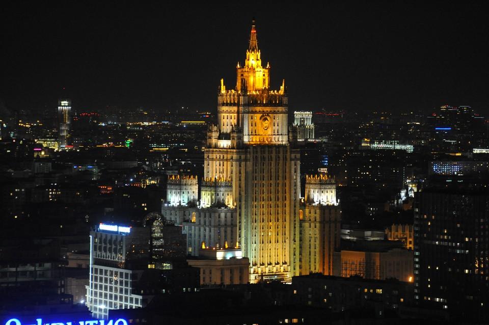 МИД России вызвал посла Греции в Москве Андреаса Фриганаса