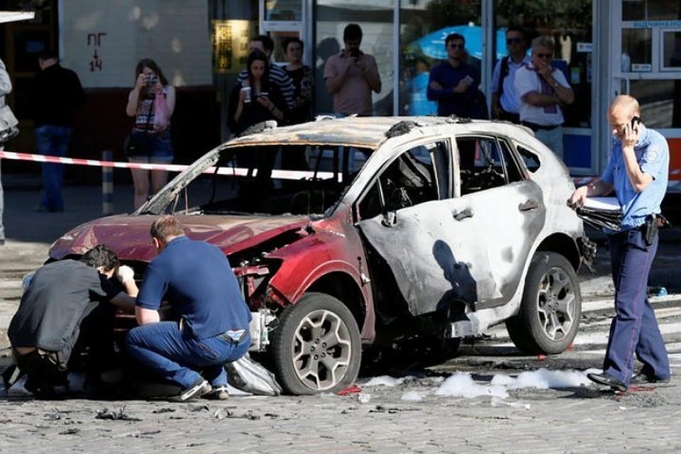 20 июля 2016 года в Киеве был взорван автомобиль, в котором находился журналист Павел Шеремет