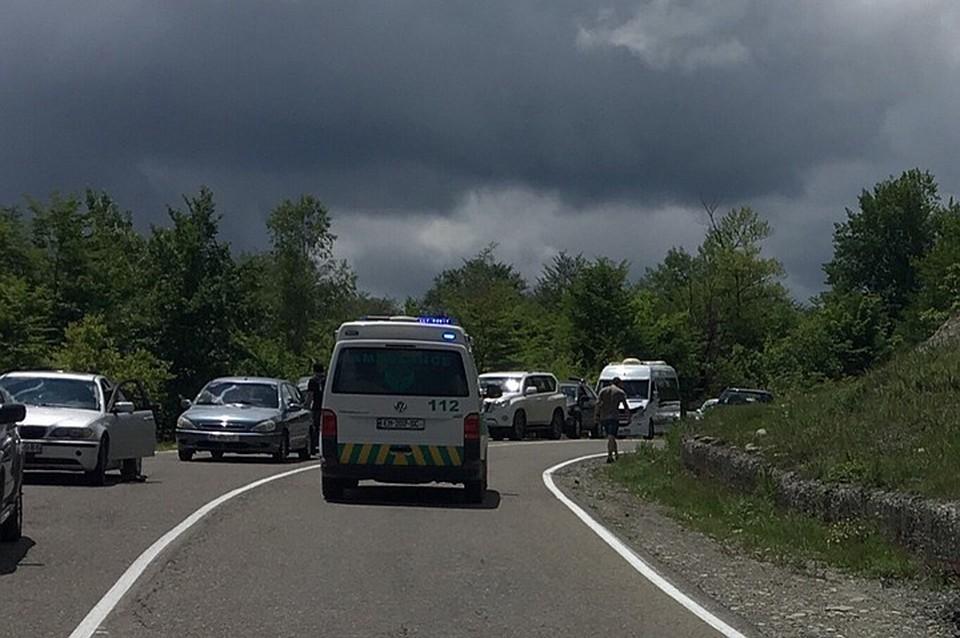 В крупном ДТП на Украине погибли двое российских граждан