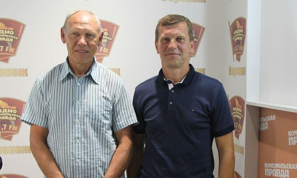 """Сергей Волгин (слева) и Игорь Пывин - """"У нас полное взаимопонимание""""."""