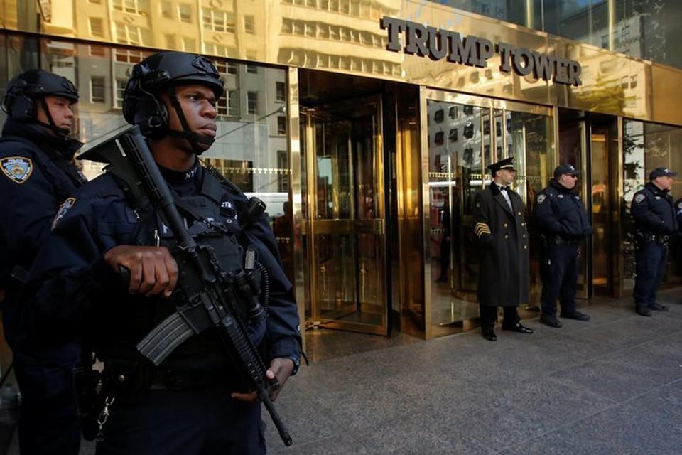Полиция на час оцепила Trump Tower из-за бесхозных сумок