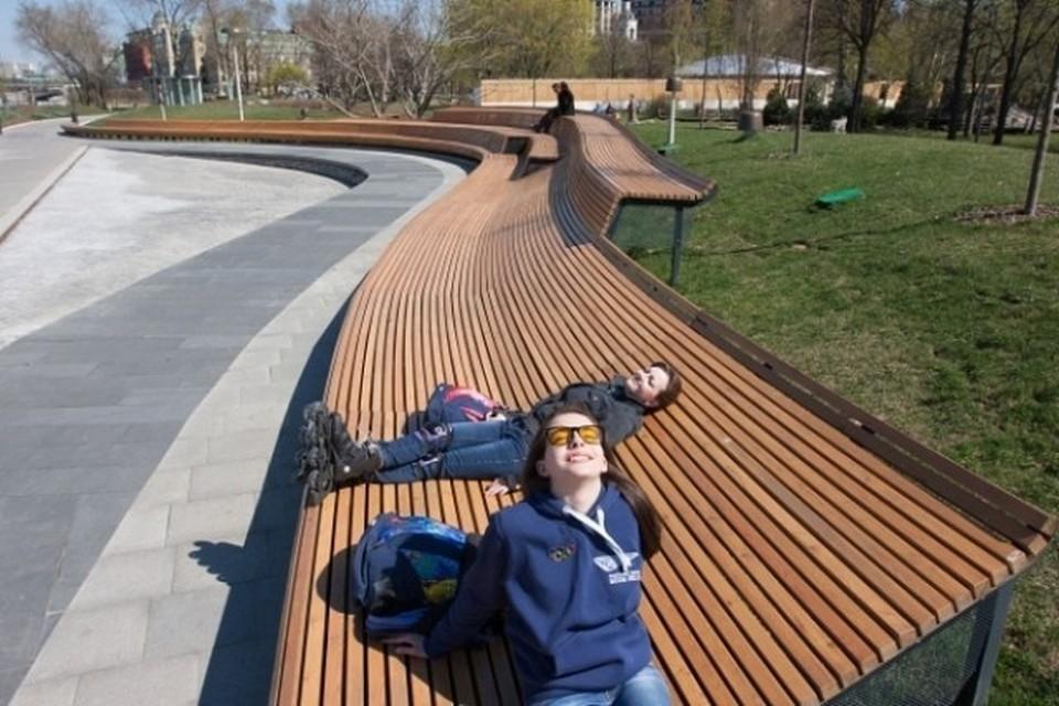 В понедельник в Москве ожидается до 26 градусов тепла