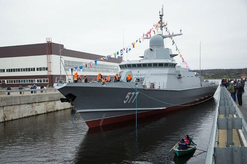 Малый ракетный корабль проекта 22800