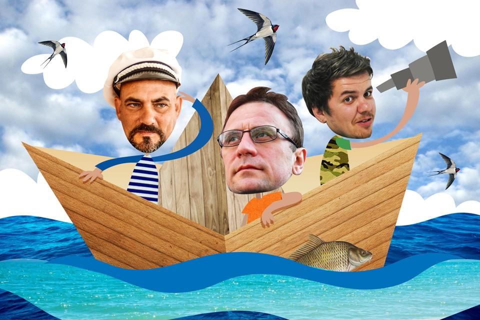 Владимир Ворсобин, Дмитрий Стешин и Виктор Гусейнов вновь отправились по Волге.