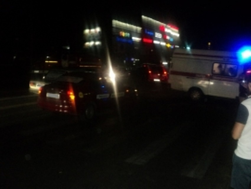 17-летняя курянка попала под колёса такси