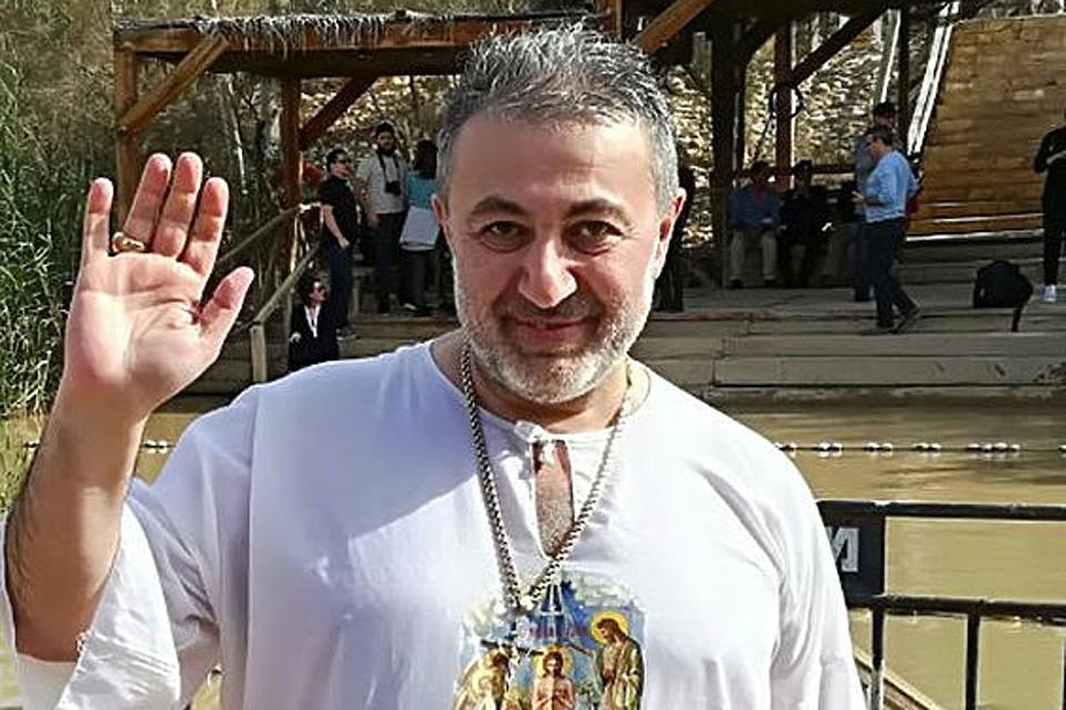 Убитый своими дочками Михаил Хачатурян.