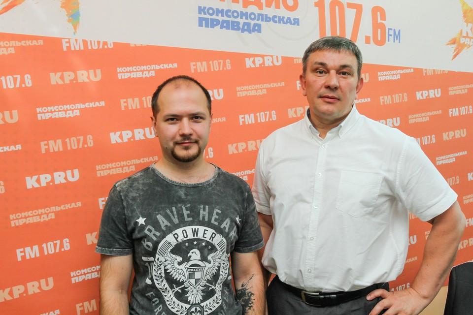 Александр Сабатаров и Алексей Горбачев