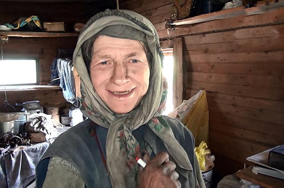 Одной Агафье на заимке приходится нелегко, да и медведь повадился Фото: пресс-служба администрации Кемеровской области