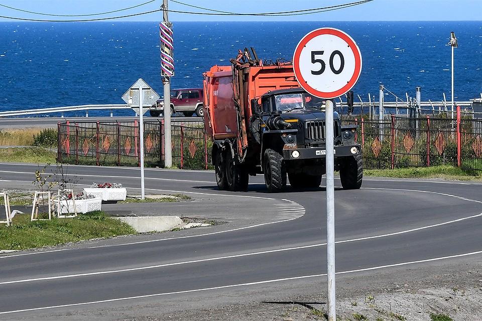 Интерактивные дорожные знаки будут менять допустимый скоростной режим в зависимости от погодных условий.