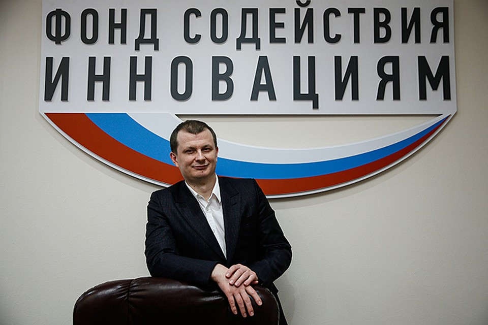 Одним из победителей проекта стал Павел Гудков, заместитель гендиректора Фонда содействия инновациям. Фото: Александр Щербак/ТАСС