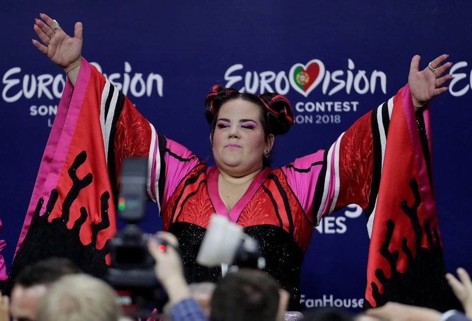 Победительница Евровидения 2018 Нетта Барзилай, которая привезла этот конкурс в Ищраиль