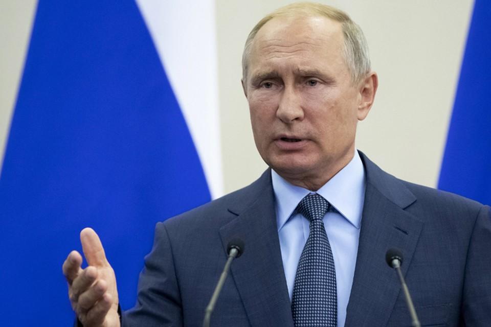 Путин во время форума во Владивостоке рассказал, что не собирается уходить с поста президента