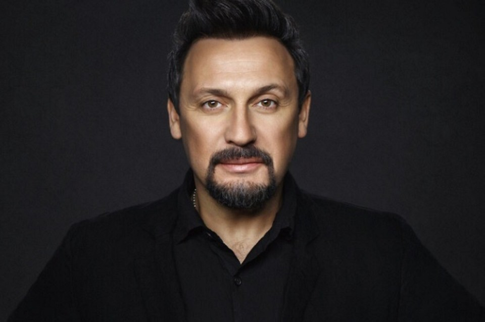 Популярный российский певец Стас Михайлов.