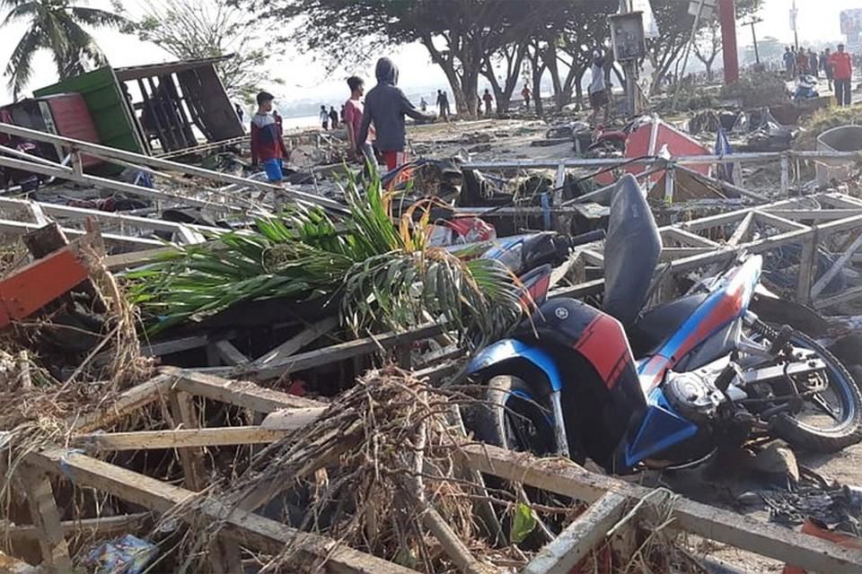 В Индонезии после землетрясения сошел сель