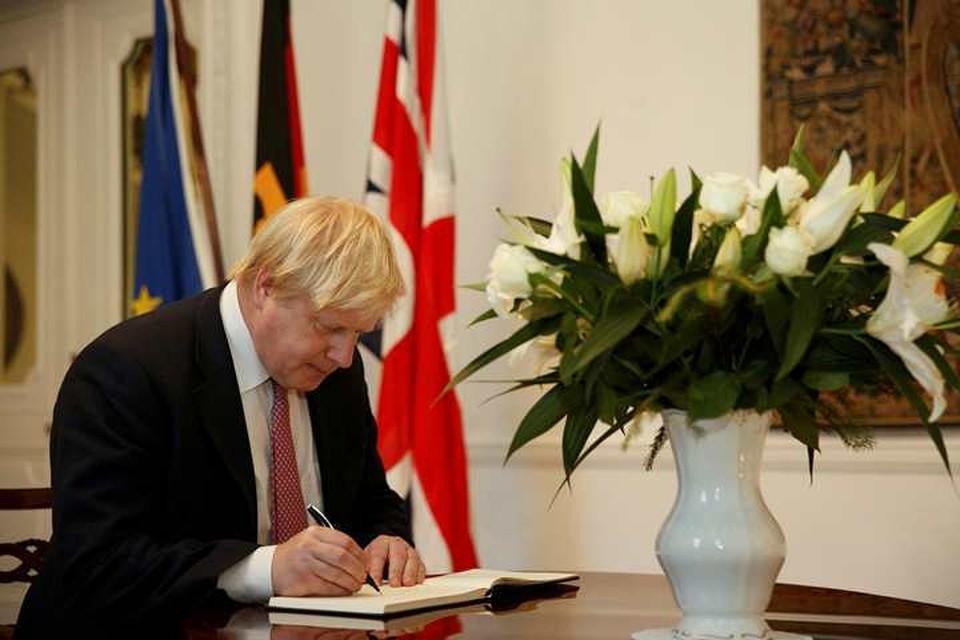 Бывший министр иностранных дел Великобритании Борис Джонсон
