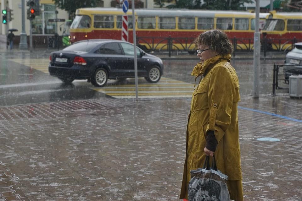 Местами по городу ожидается умеренный дождь