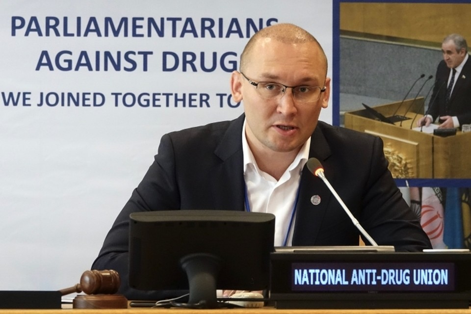 Председатель правления НАС Никита Лушников. Фото: Постпредство РФ при ООН