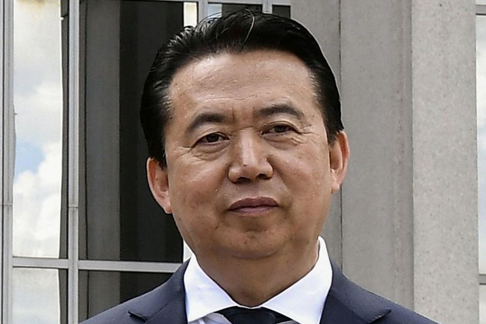 Президент Интерпола Мэн Хунвэй