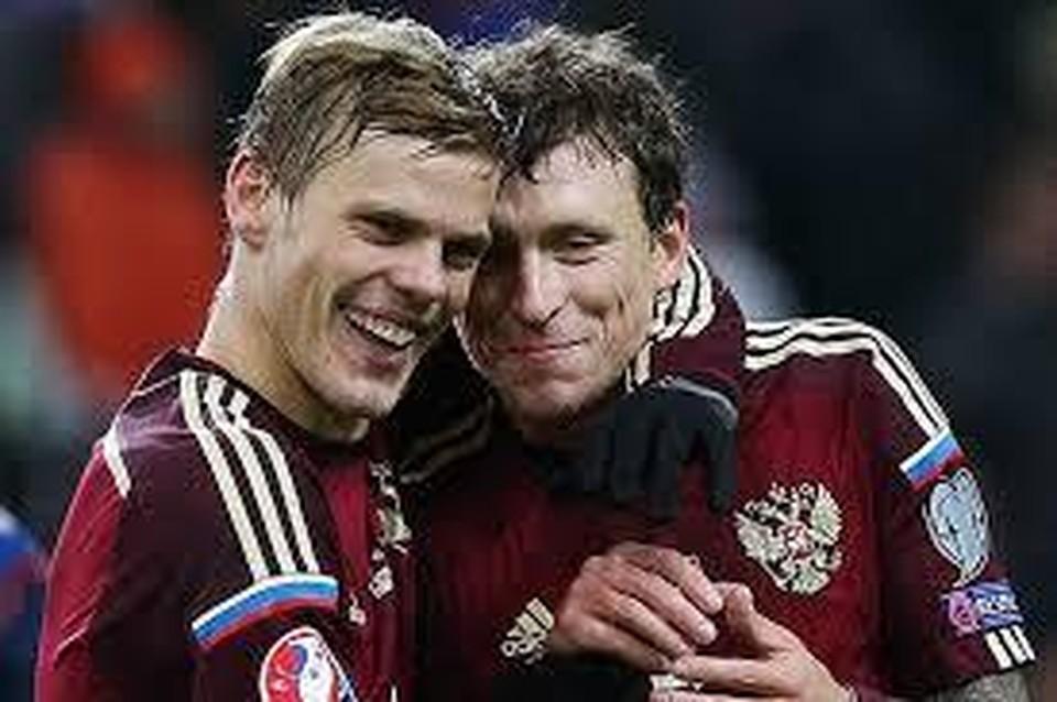 Александр Кокорин и Павел Мамаев. Фото: Станислав Красильников/ ТАСС