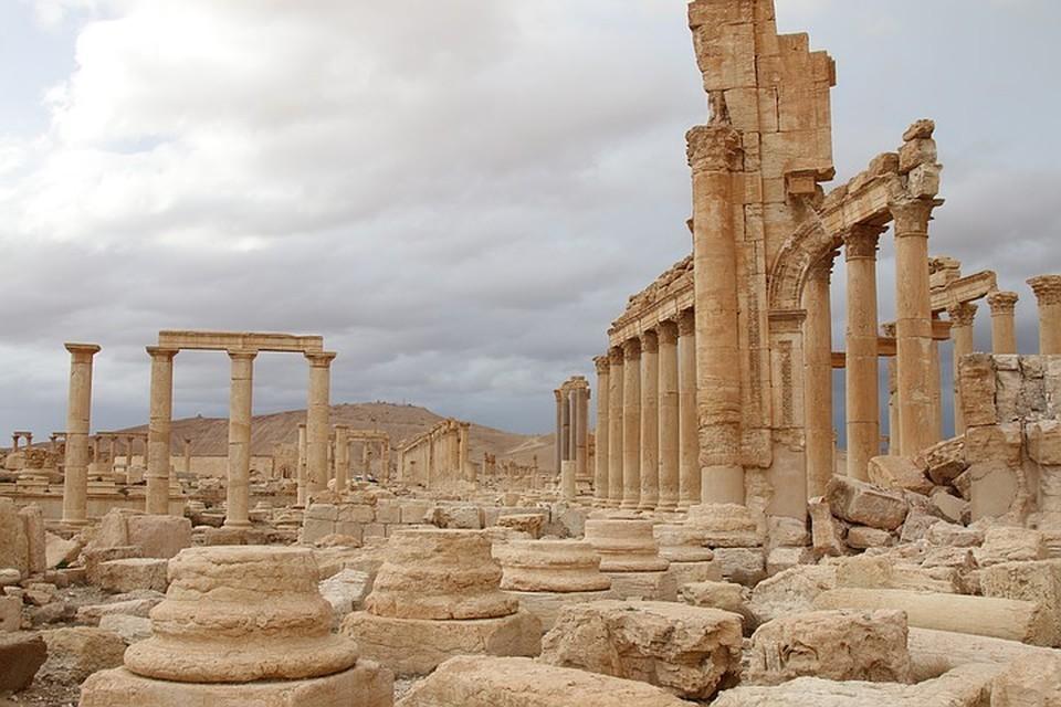 В Сирии восстанавливают объекты культурного наследия