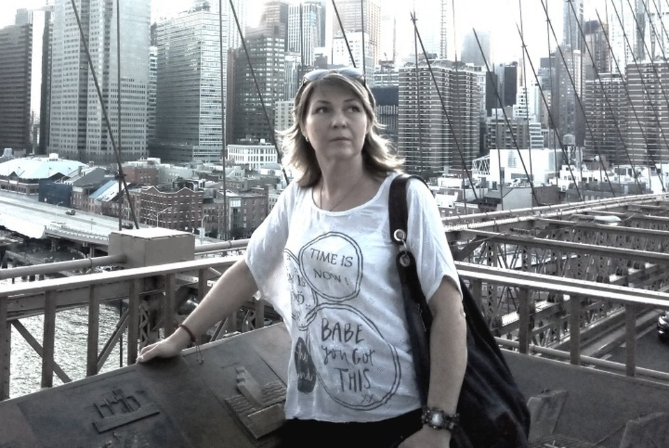 Виктория Ярошенко приехала в Америку, чтобы встретиться с супругом. Фото: личный архив