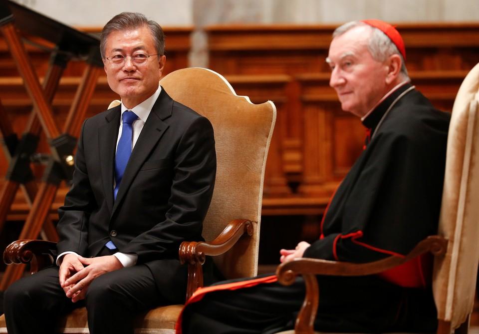Папа римский получил приглашение Ким Чен Ына в КНДР от президента Южной Кореи