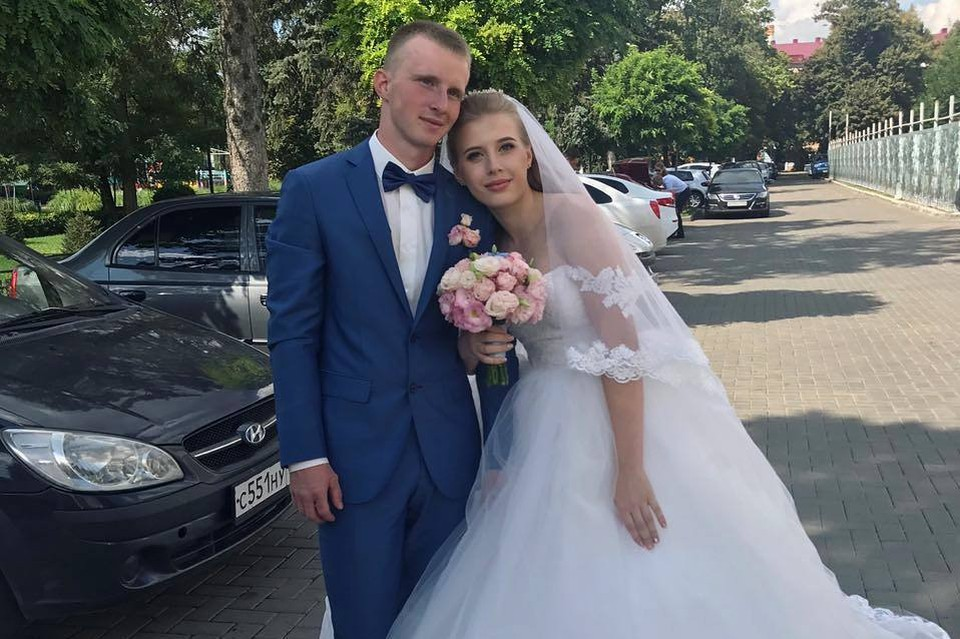 На фото Владислав и Мария Неледвы.