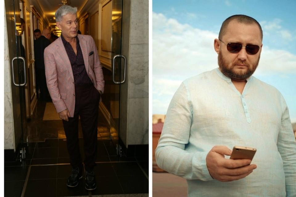 Александр Шаханин (на фото справа) обвинил Олега Газманова в плагиате.