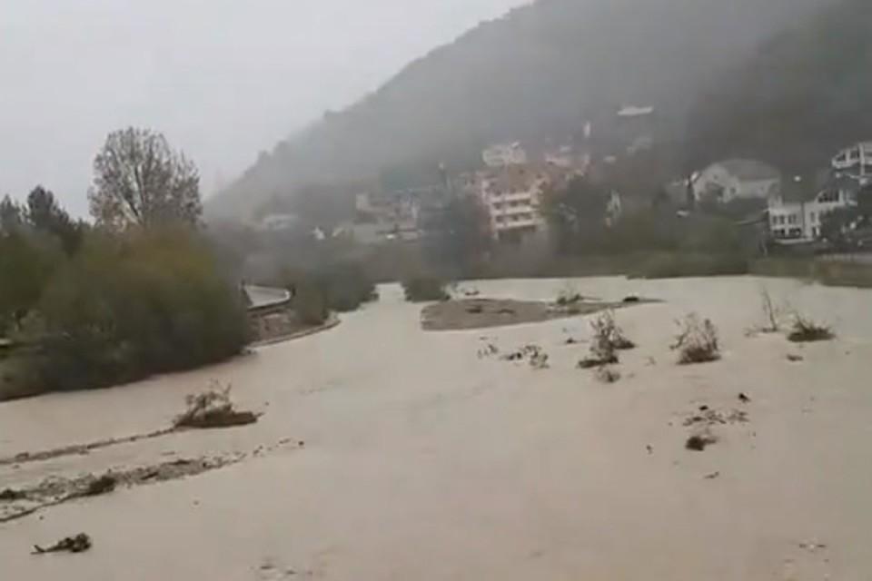 Река в Туапсе