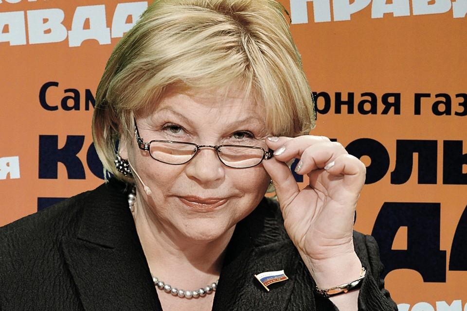 Елена Драпеко: Я - вечная комсомолка