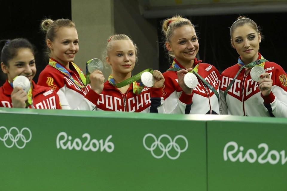 Российские гимнастки завоевали серебро на ЧМ в Дохе и прошли отбор на Олимпиаду-2020
