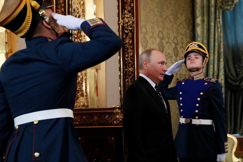 Президент РФ Владимир Путин предложил вернуть название ГРУ для военной разведки РФ