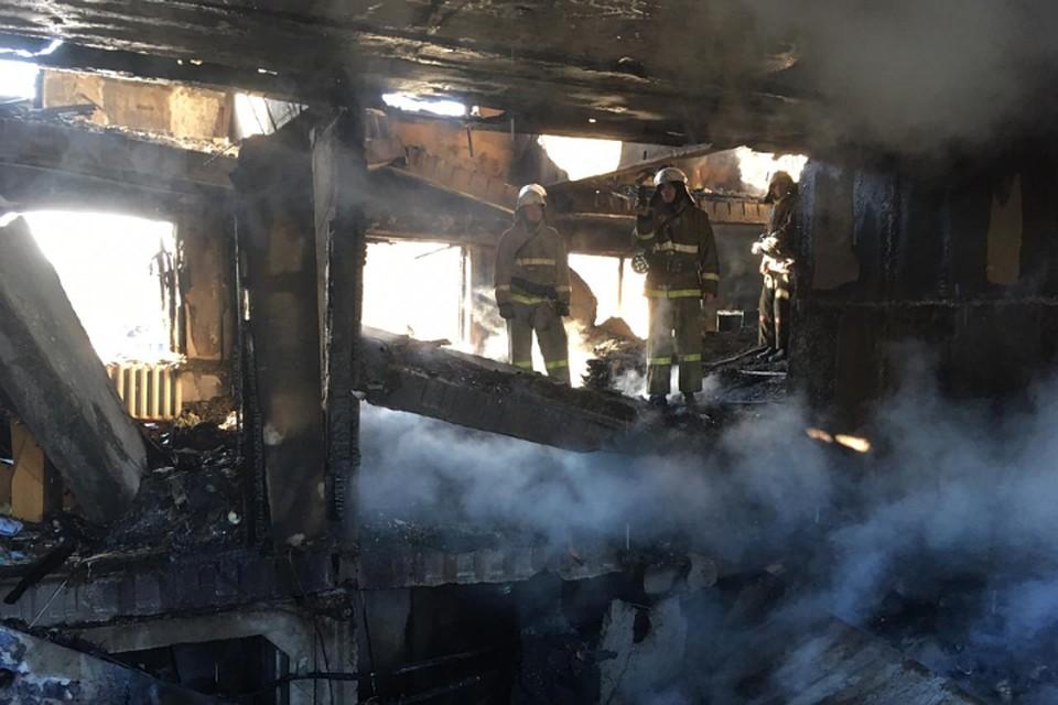 Эксклюзив: Появились фотографии с места трагедии в поселке Приамурское, где взорвался газ