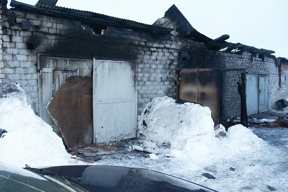 1eabdd7282a0 В Росляково обнаружили труп в ходе тушения пожара в гараже