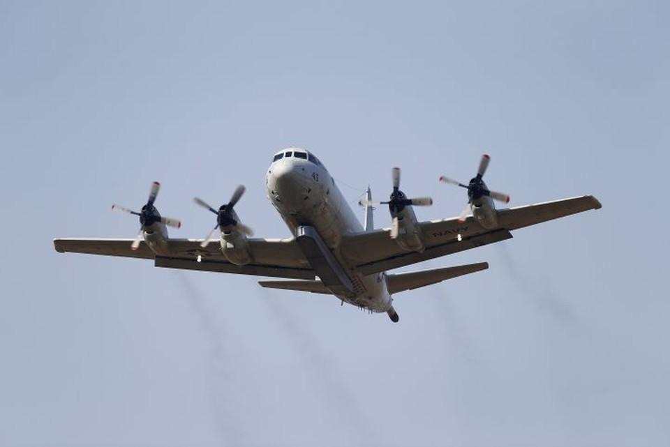 Патрульный самолет ВВС США совершил полет у Керченского пролива