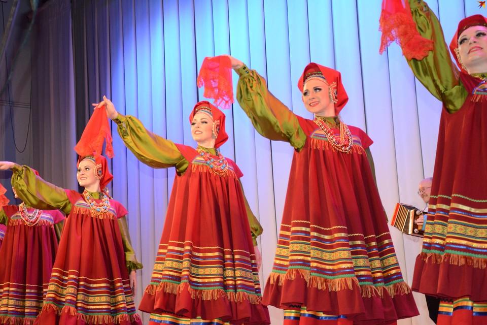 В столице Коми выступил Рязанский народный хор имени Евгения Попова.