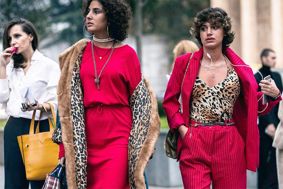 Модные тенденции зимы 2018-2019  леопард в пальто 8fd43f4c3a5