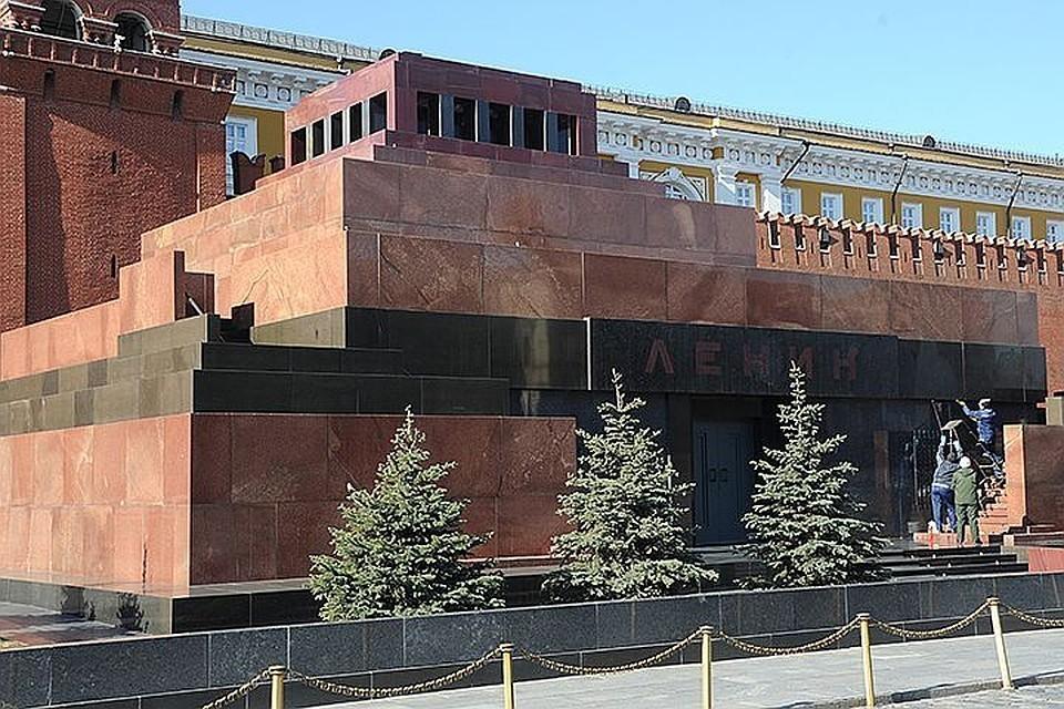 Тело Ленина в мавзолее предложили заменить куклой