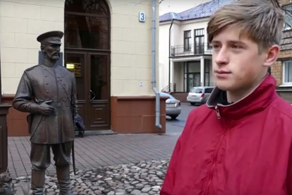 Задержанным оказался 16-летний подросток. Фото: кадр из видео