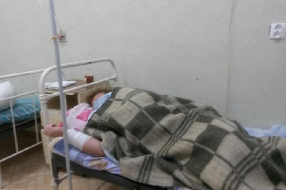 Температура в помещениях больницы не поднималась выше +10С. Фото uac-info.com