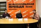 Кавер-группа «Drum&Jazz» дала первую музыкальную пресс-конференцию в Пскове