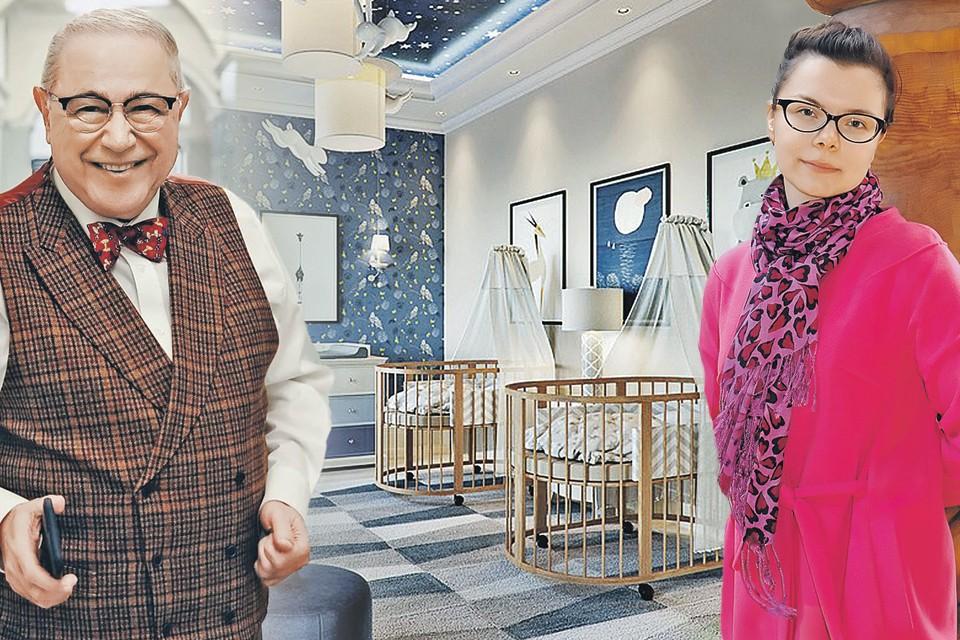 Муза Евгения Петросяна Татьяна Брухунова уже обустроила новенькую детскую комнату для двух малышей.