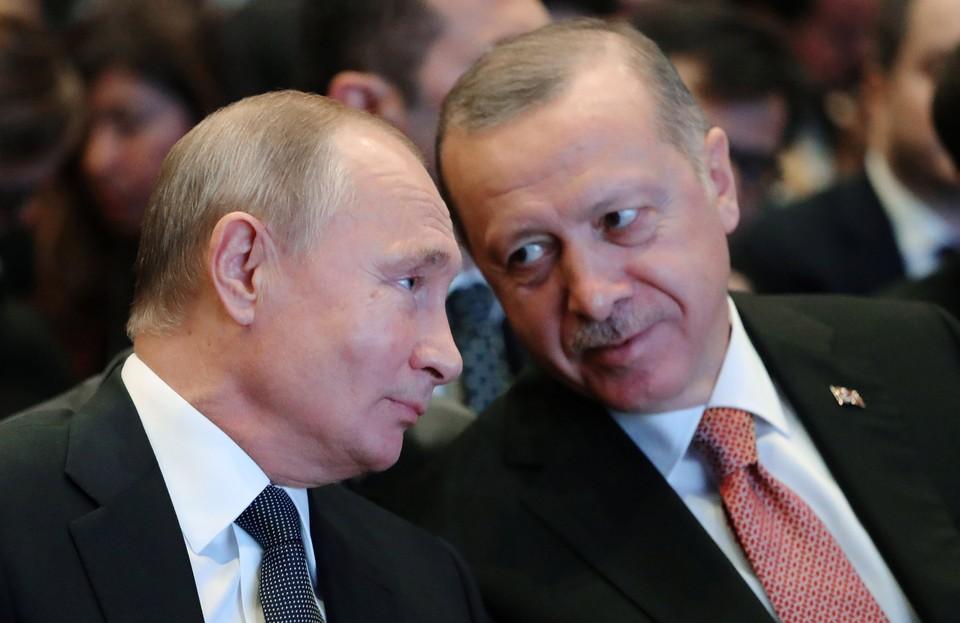 Президенты России и Турции Владимир Путин и Реджеп Тайип Эрдоган проведут переговоры на саммите G20.