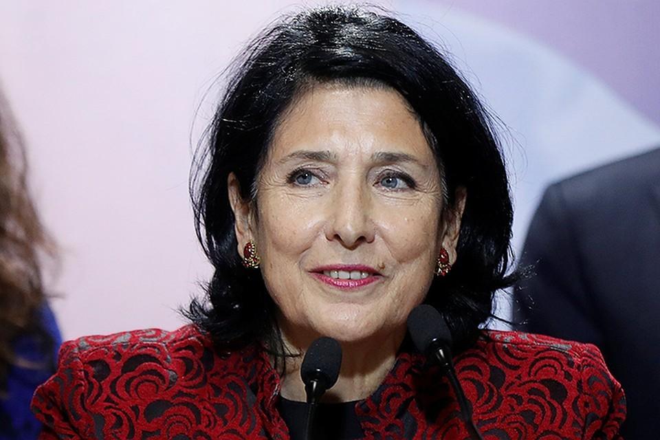 Новоизбранный президент Грузии Саломе Зурабишвили