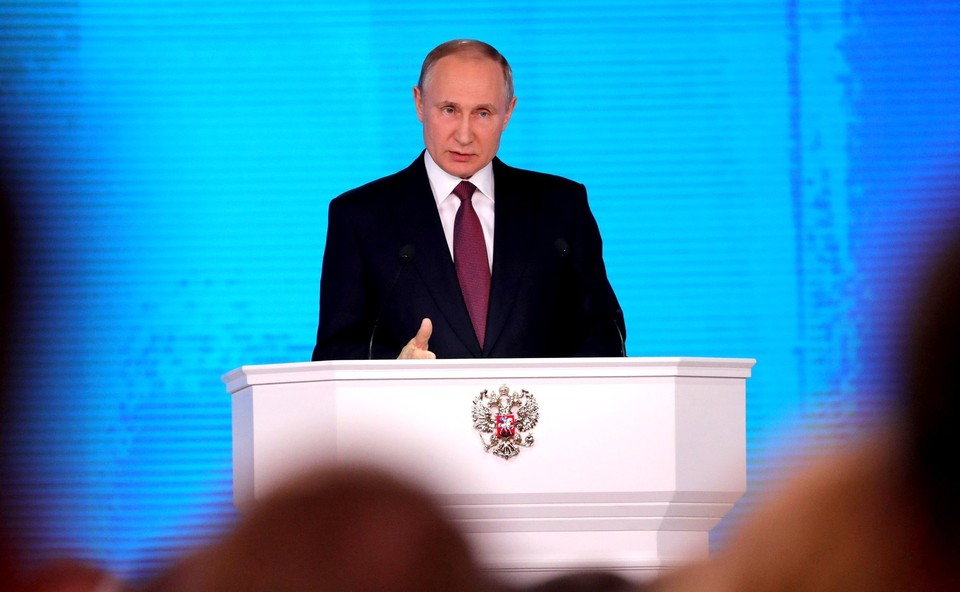 Путин не выступит с посланием Федеральному собранию до конца года