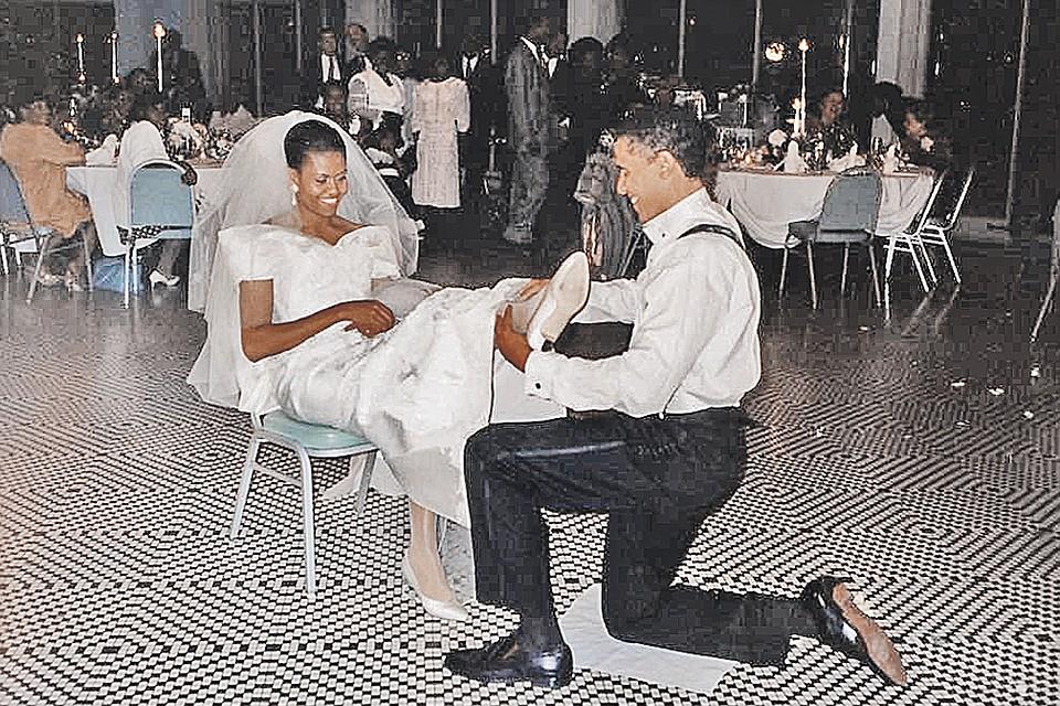 Путь к сердцу Мишель Барак Обама нашел через кафе-мороженое «Баскин-Роббинс» ad0f7616cb8