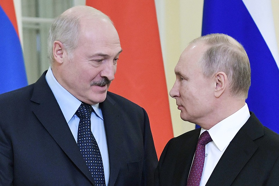 Александр Лукашенко и Владимир Путин. ФОТО Алексей Никольский/пресс-служба президента РФ/ТАСС